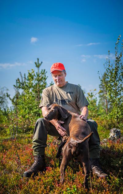 Lasse Tasala ja koira
