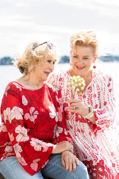 Annina Holmverg ja Annina Litmanen