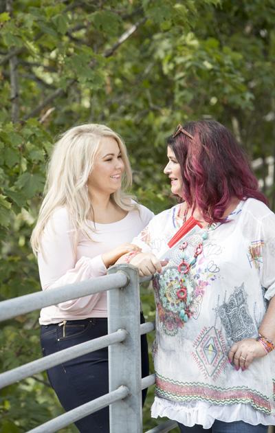 Milena ja Meiju Suvas