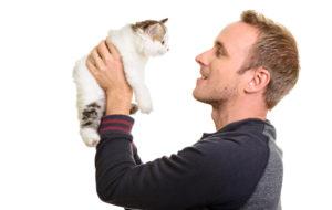 Mies ja kissa