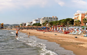 Durresin Rivieran ranta