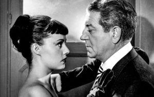 Jean Gabin ja Jeanne Moreau.