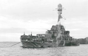 Vuonna 1933 valmistunut panssarilaiva Ilmarinen