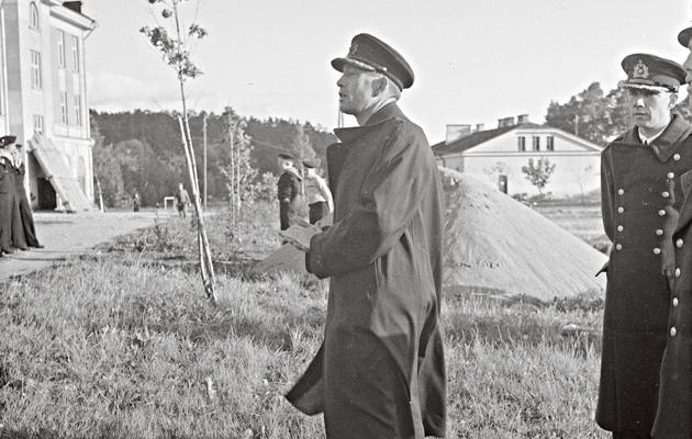 Ilmarisen kapteeni, komentaja Ragnar Göransson