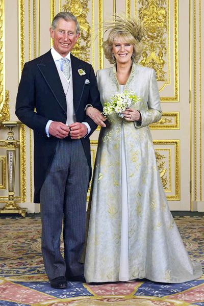 Charlesin ja Camillan häät vuonna 2005