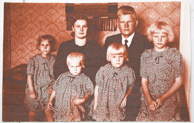 Suden perhe 1939