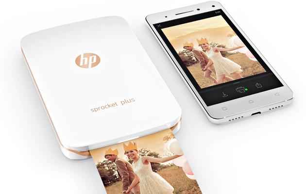 Taskuun mahtuvalla HP Sprocket Plus -tulostin