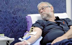 Veren luovuttaminen