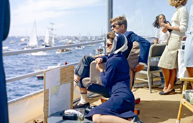 Jackie Kennedy ja John F. Kennedy