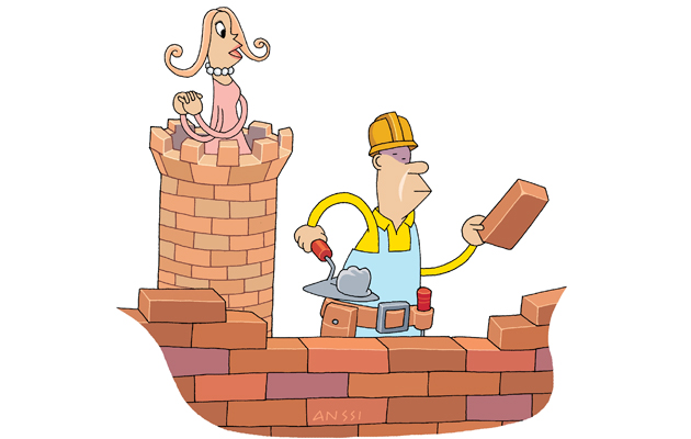 Joka miehessä asuu remonttireiska.