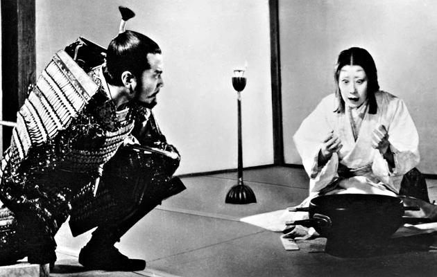 Toshiro Mifune ja Isuzu Yamada