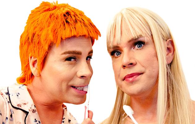 Cristal Snow (kuvassa vas.) ja NikoLa