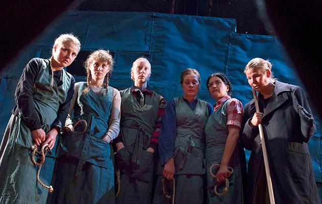 KOM-teatterin Veriruusut