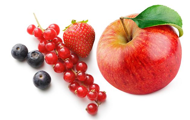 Omena ja marjoja