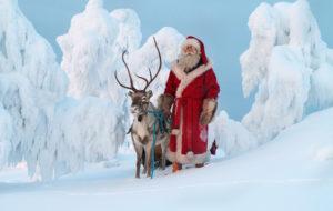 hiihdä joulupukin luo