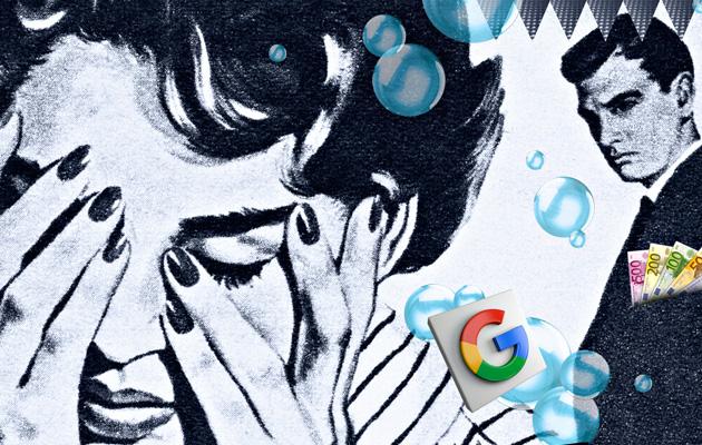 Google mainostaa vippejä velkaantuneille, jotka etsivät apua