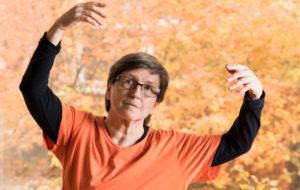 Pirjo Röyskö terapeuttinen tanssi