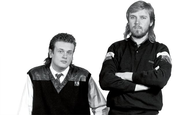 Markus Selin (vas.) ja Lauri Harjola .