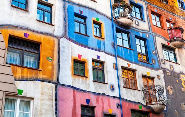 asuinkerrostalo Hundertwasserhouse