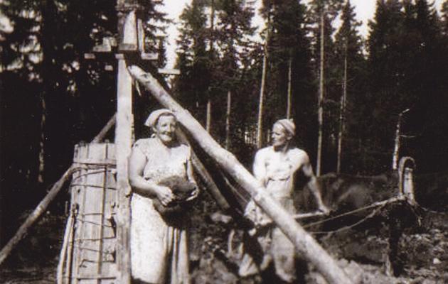 Alli ja Kaino Kangasmäki