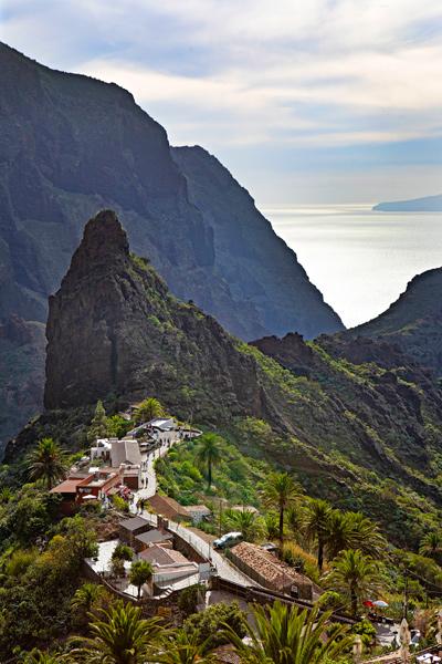 Mascan piskuinen vuoristokylä