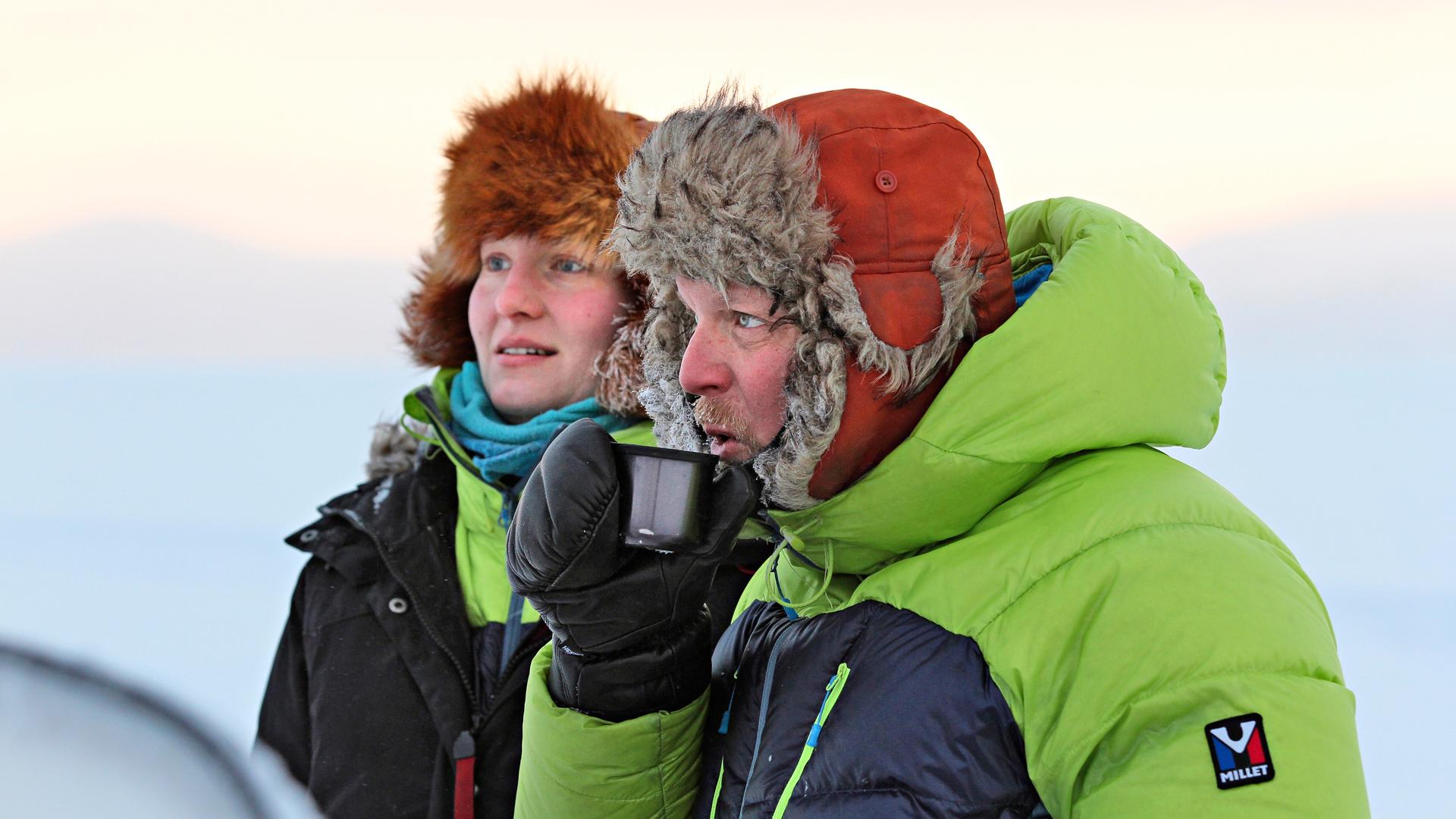 Emilia Laitinen ja Aki Huhtanen