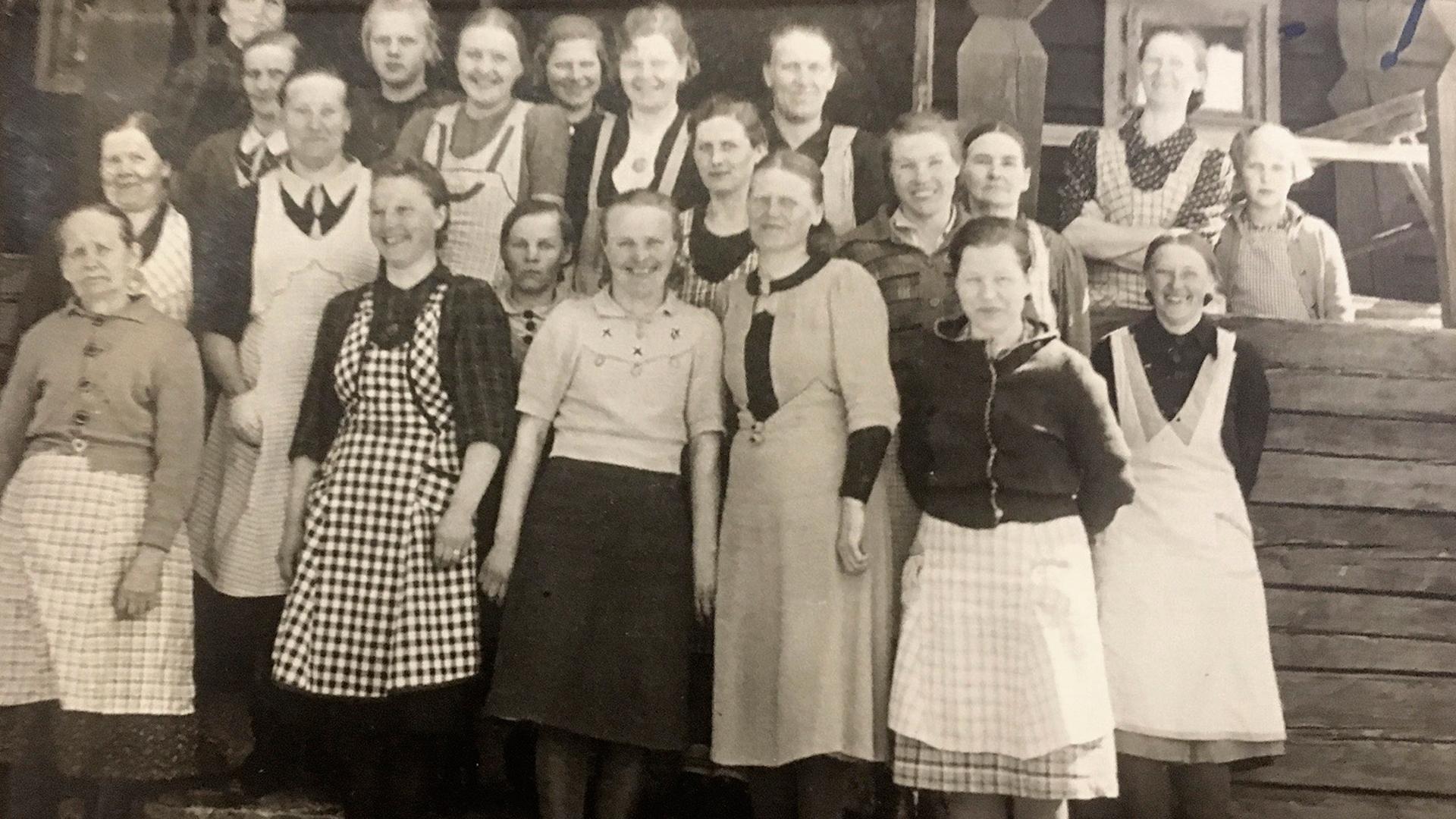 Toimittaja Hertta-Mari Kaukosen Martta-mummo