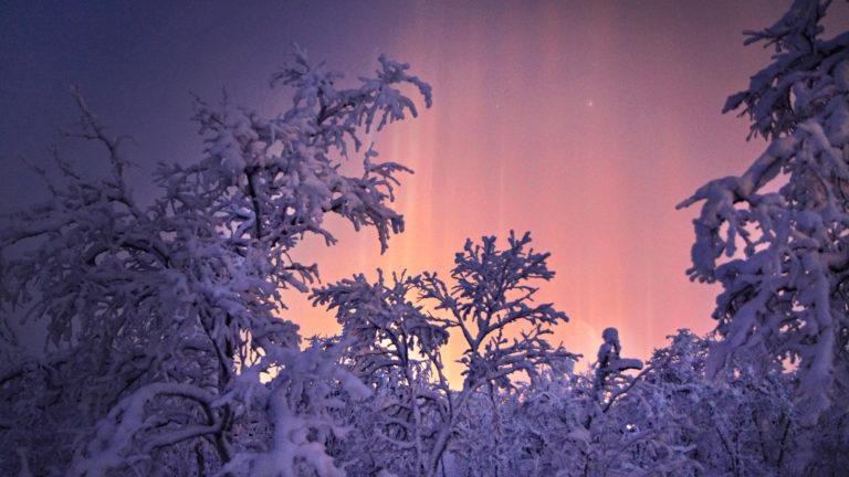 Kilpisjärven taivas