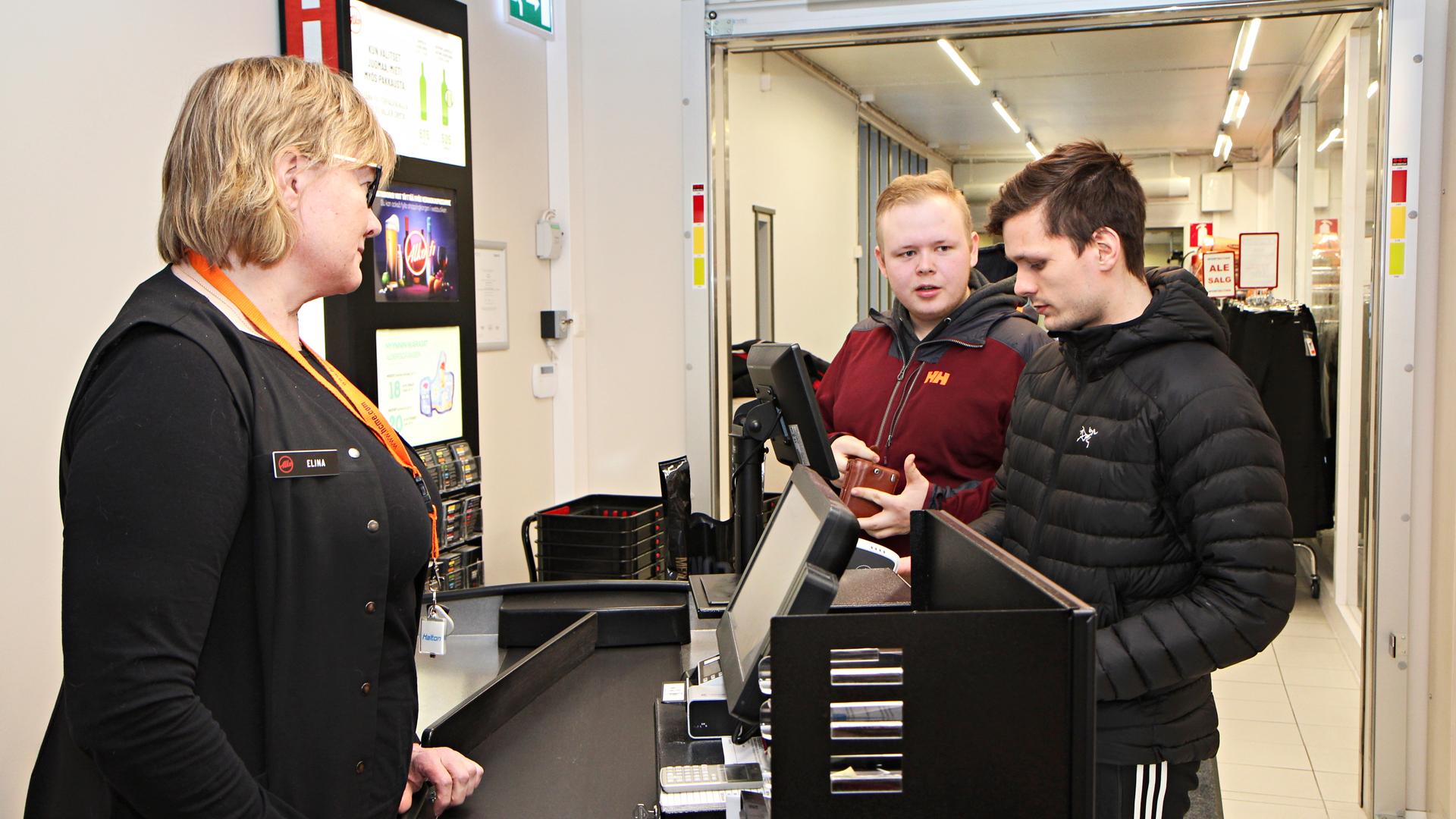 Norjalaiset Remi Valle Hansen ja Vebjorn Elvemo
