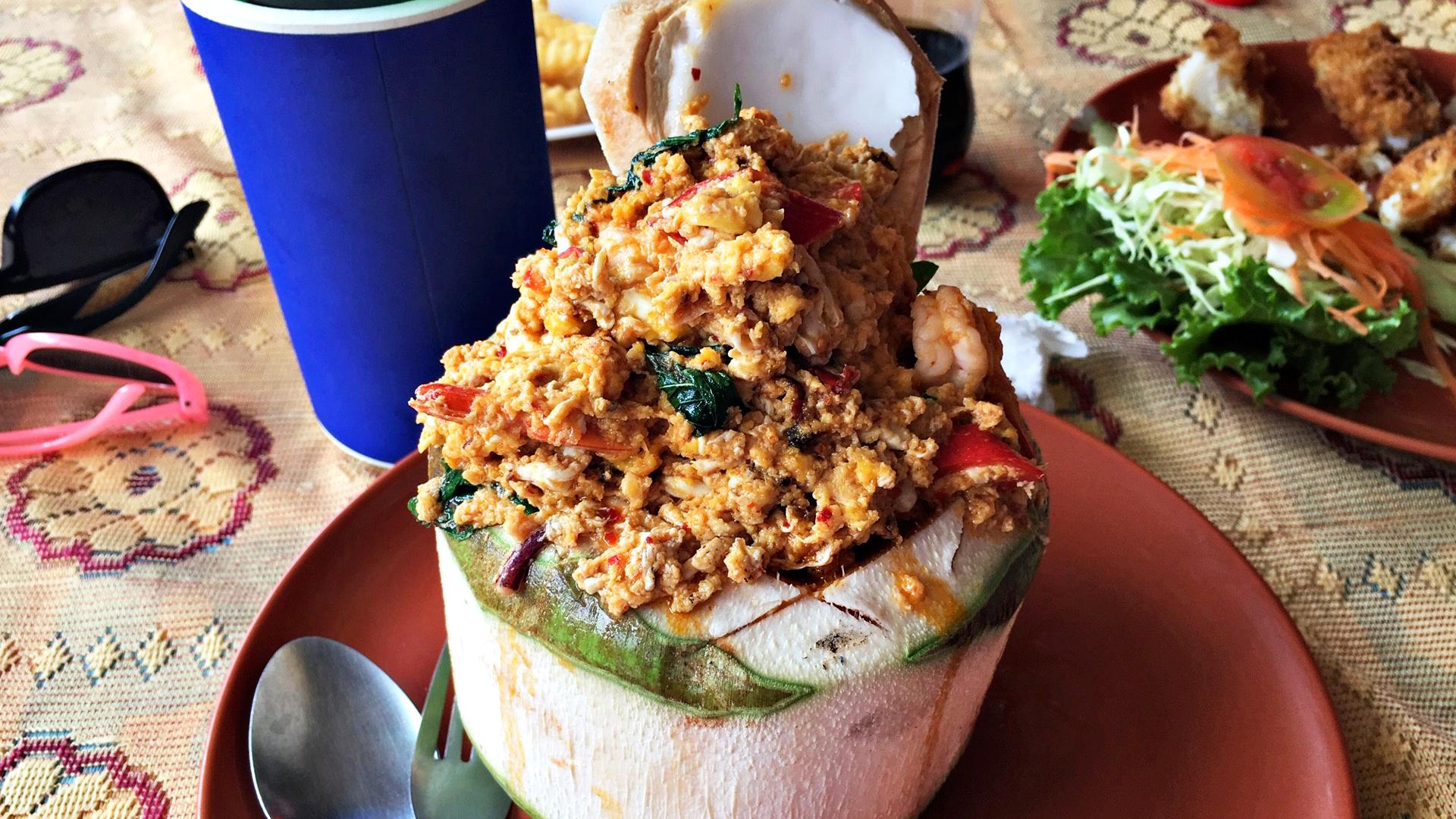 Thaimaassa on helppo syödä terveellisesti.
