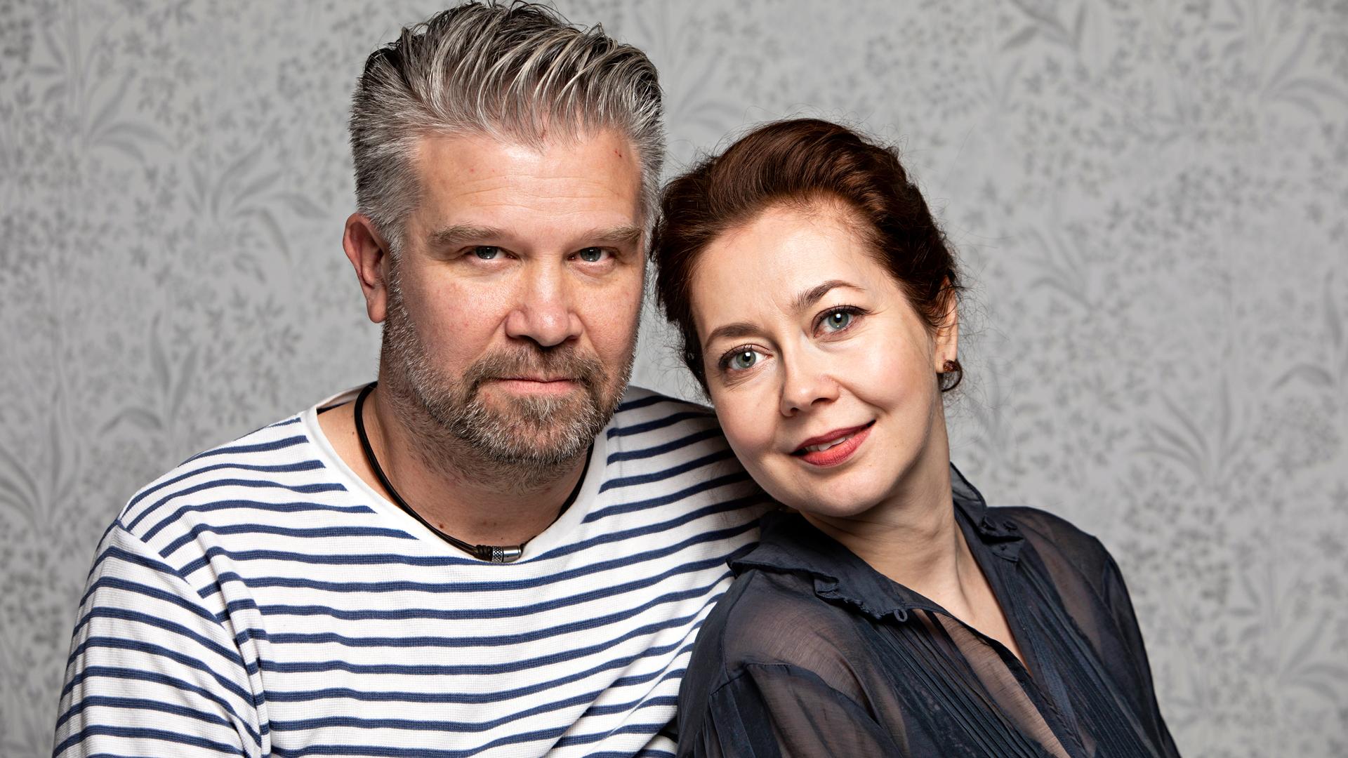 Petri Haapasalo ja Essi Luttinen