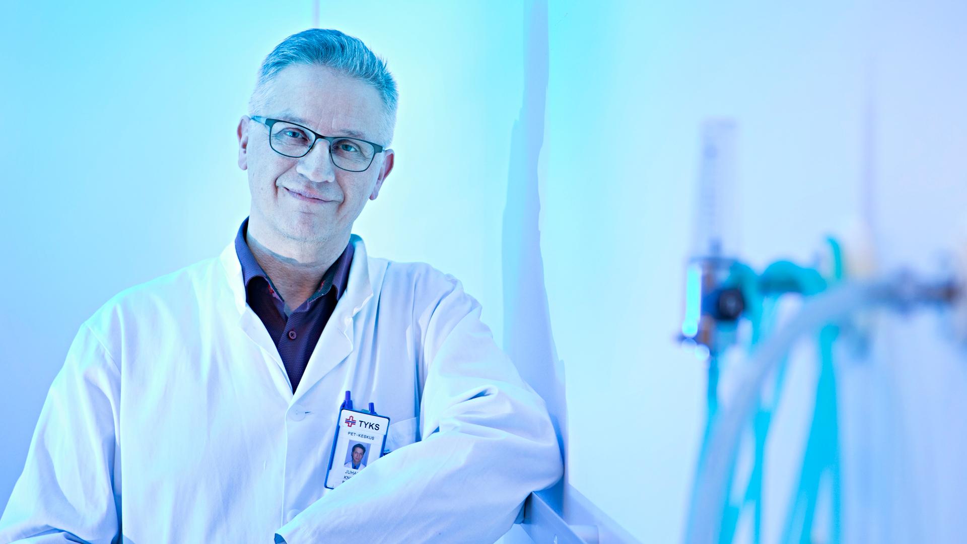 Professori Juhani Knuuti