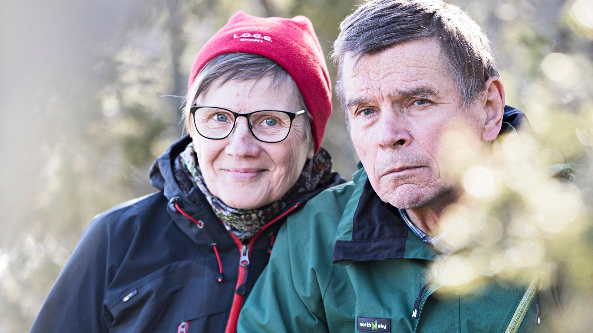 Liisa ja Tuomo Peltola