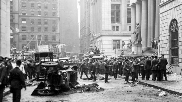 Räjähdys Wall Streetillä