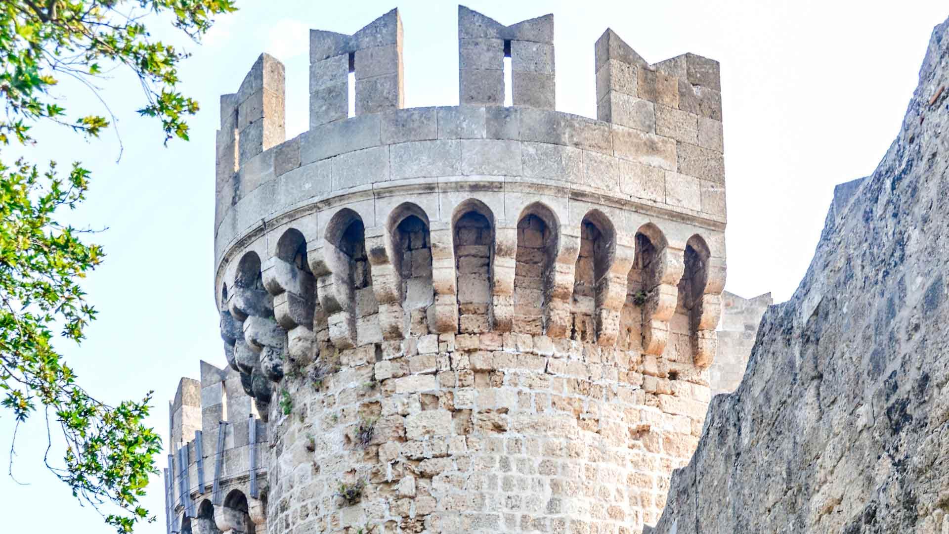 Rodoksen vanhankaupungin muuri