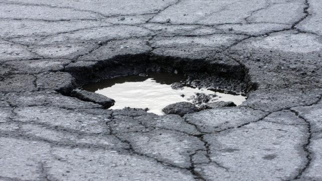 Routamonttuun osuminen voi vaurioittaa ajoneuvoa pahasti.