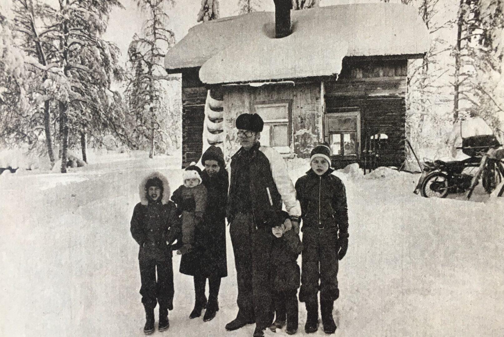 Paltamolaisperhe eli köyhyydessä ja sulatti talvella veden lumesta.