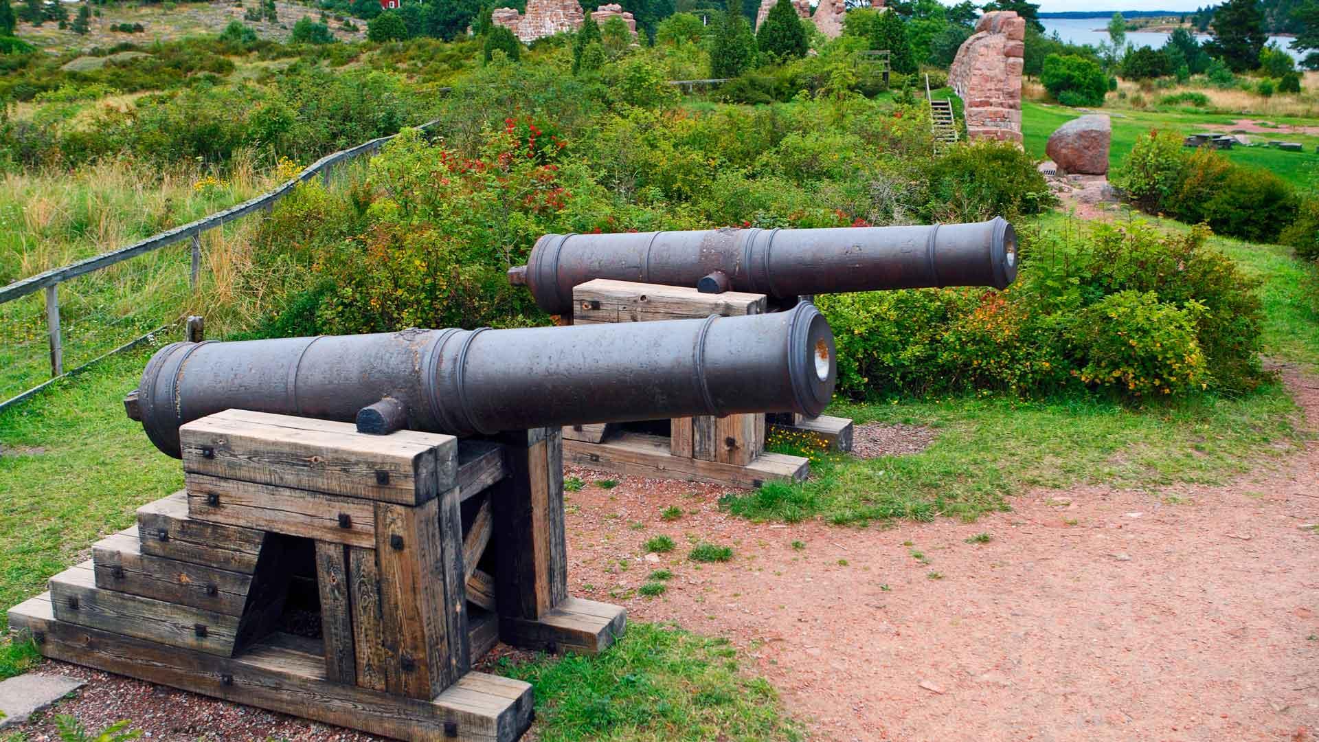 Bomarsundin linnoituksen tykit