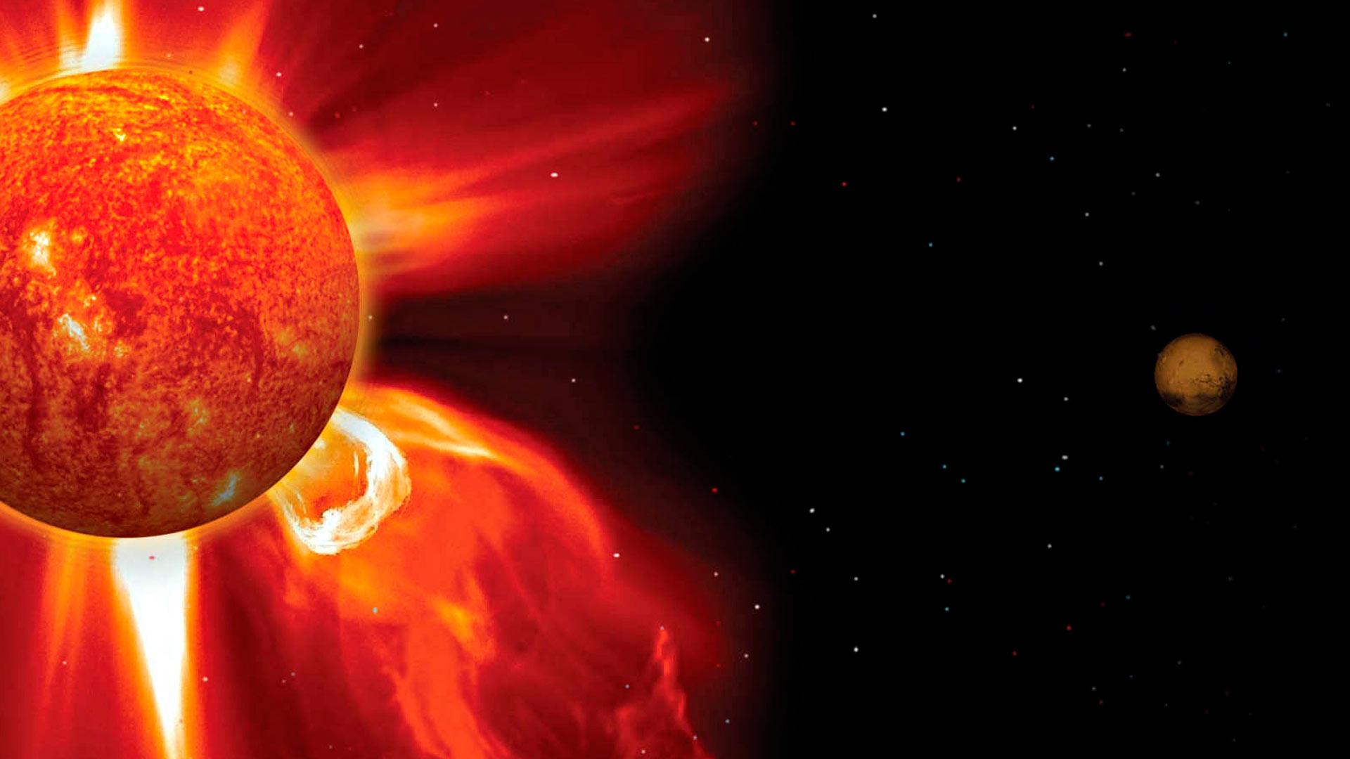 Aurinkomyrsky ja komeetta