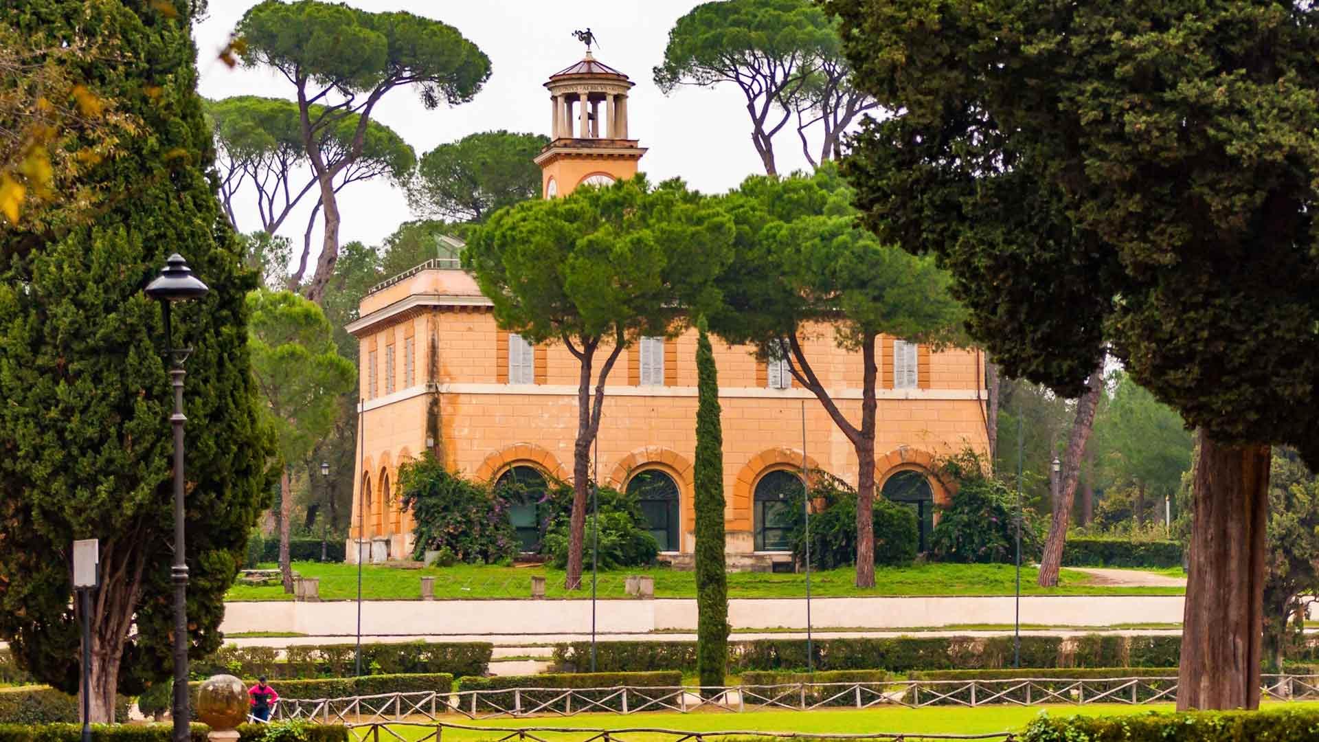 Villa Borghesen puisto
