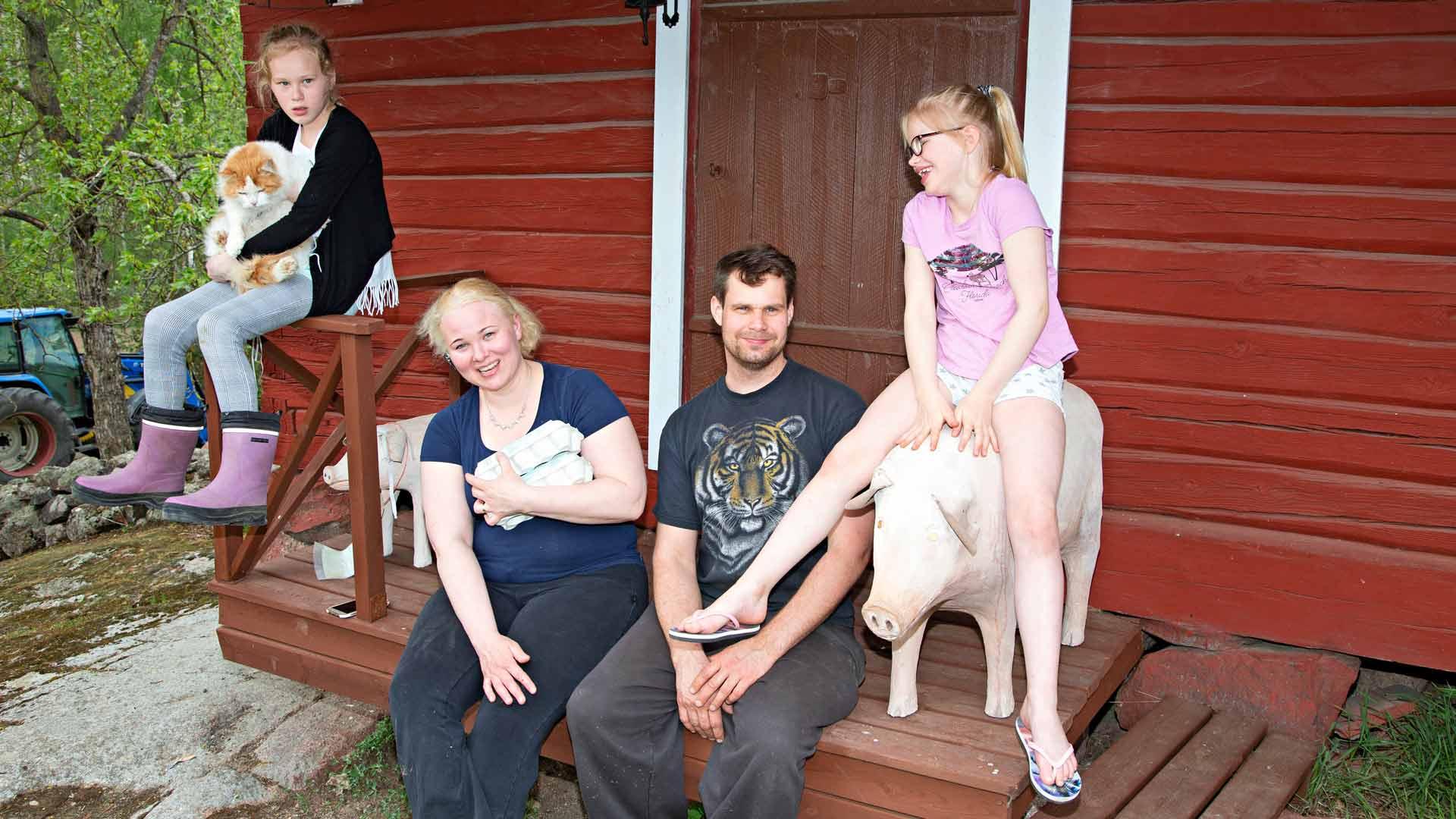 Haajasen perhe