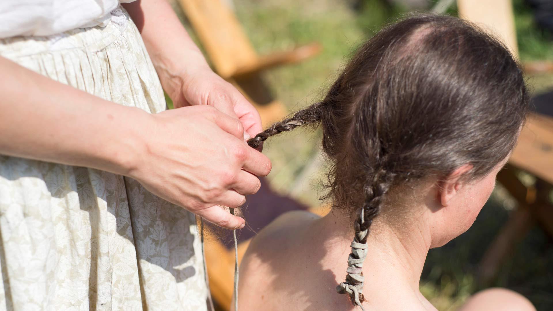Hiusten letitystä