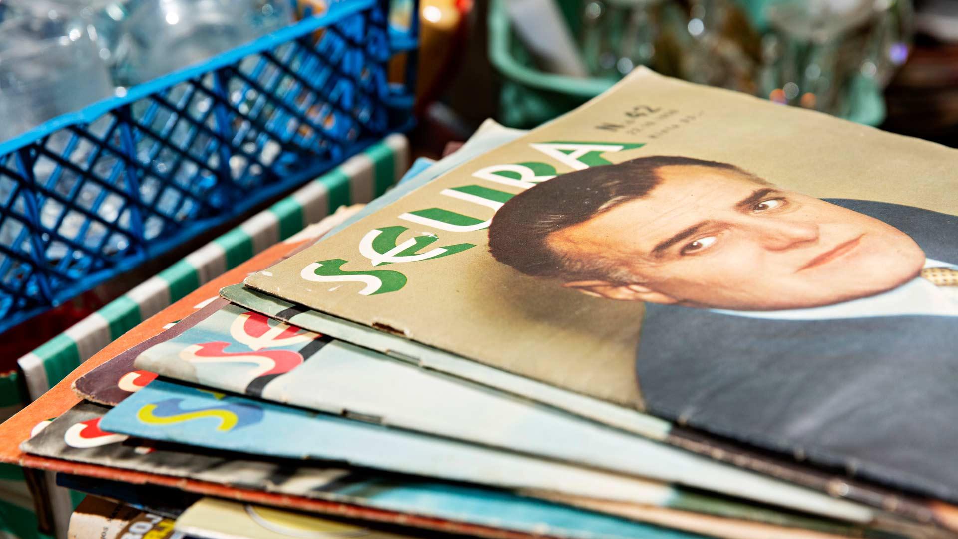 50-luvun Seura-lehtiä