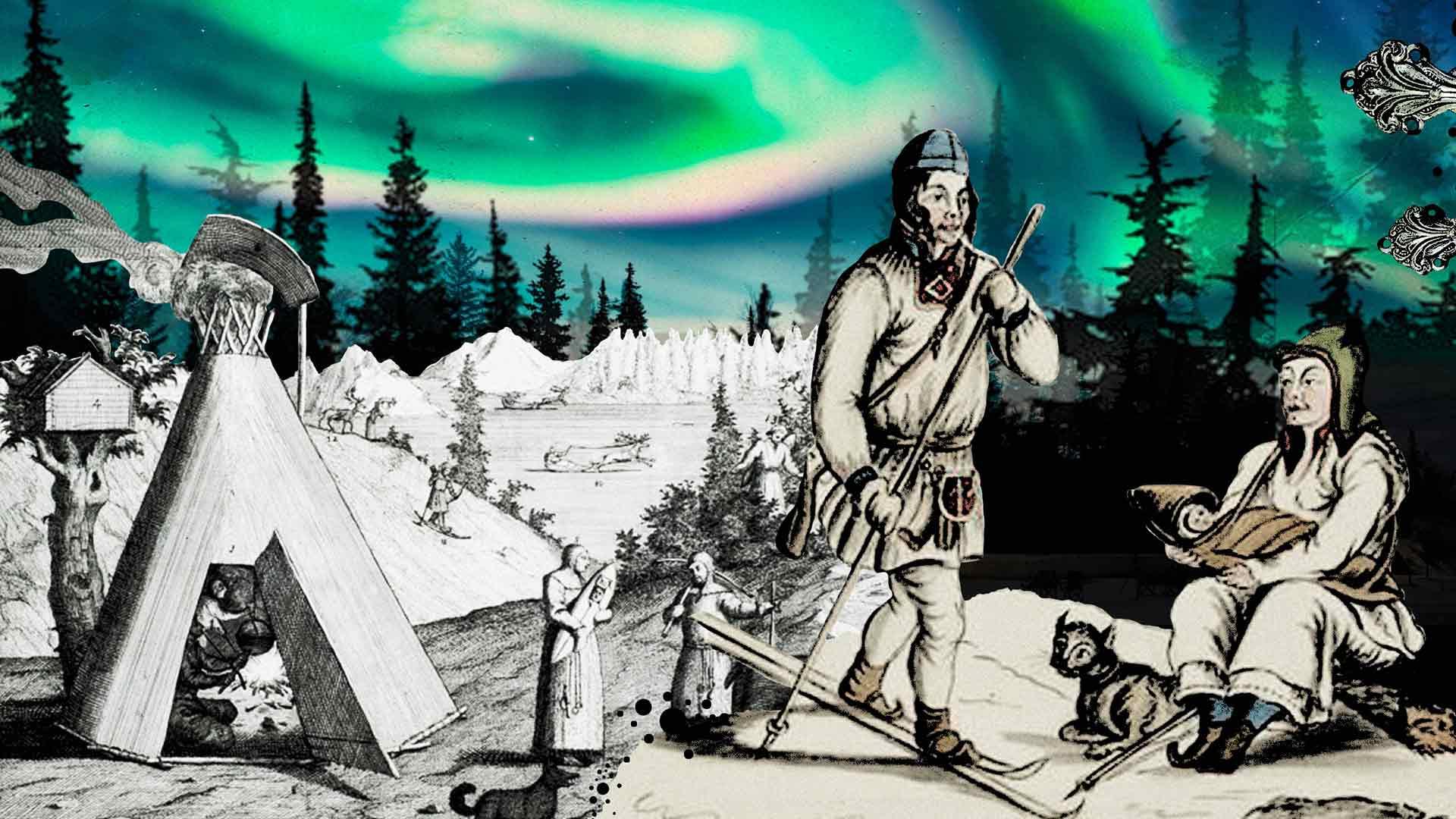 Saamelaisuus ja Suomen historia