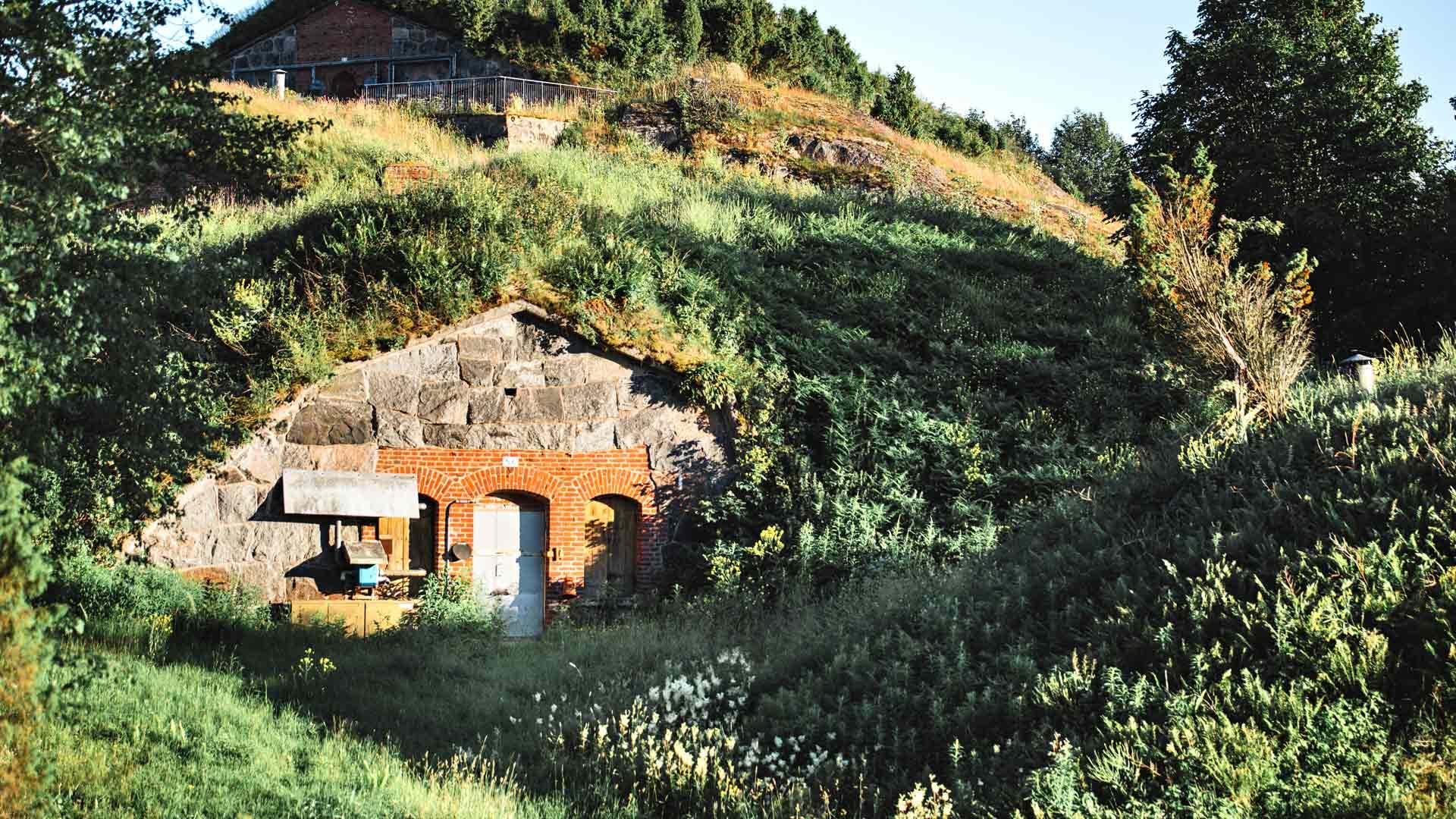 Vallisaaren vanha linnoitus
