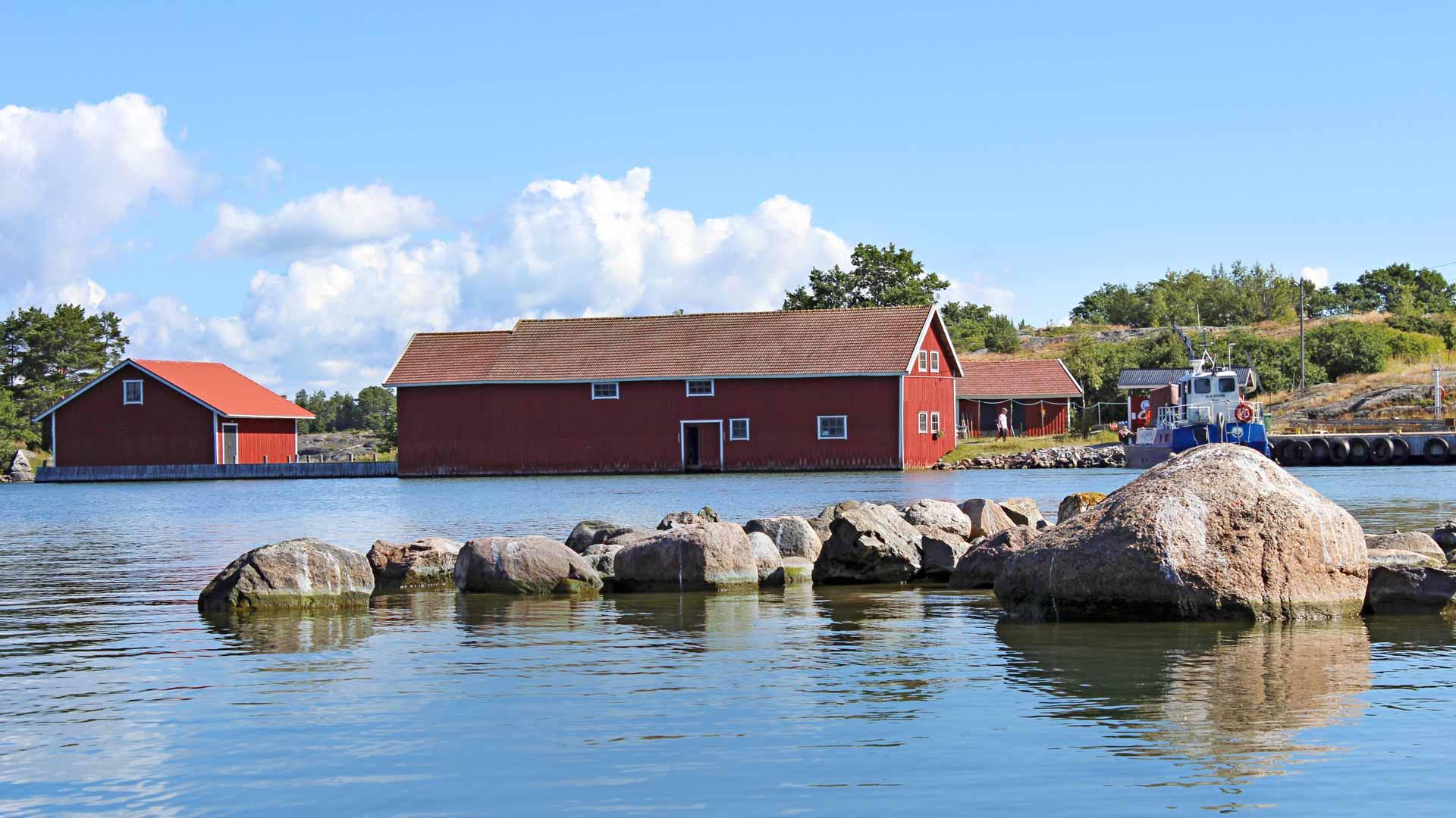 Stenskärin saaristokylä