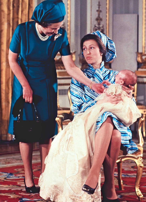 Kuningatar Elisabet ja Peter Phillips