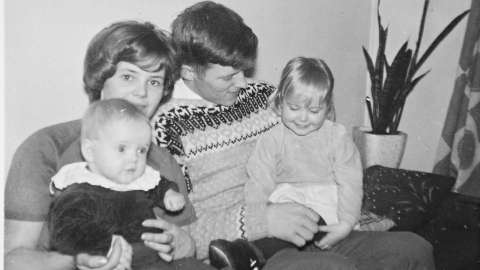 Helen Hans-isänsä kanssa