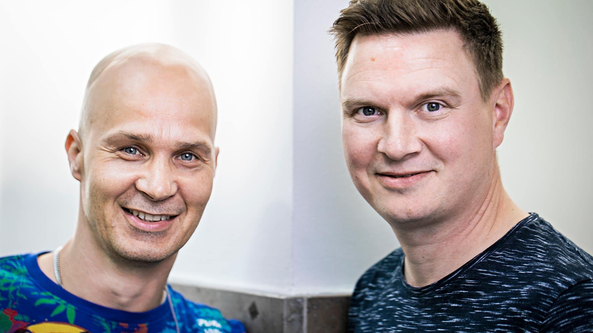 Marko Maunuksela ja Jukka Hallikainen