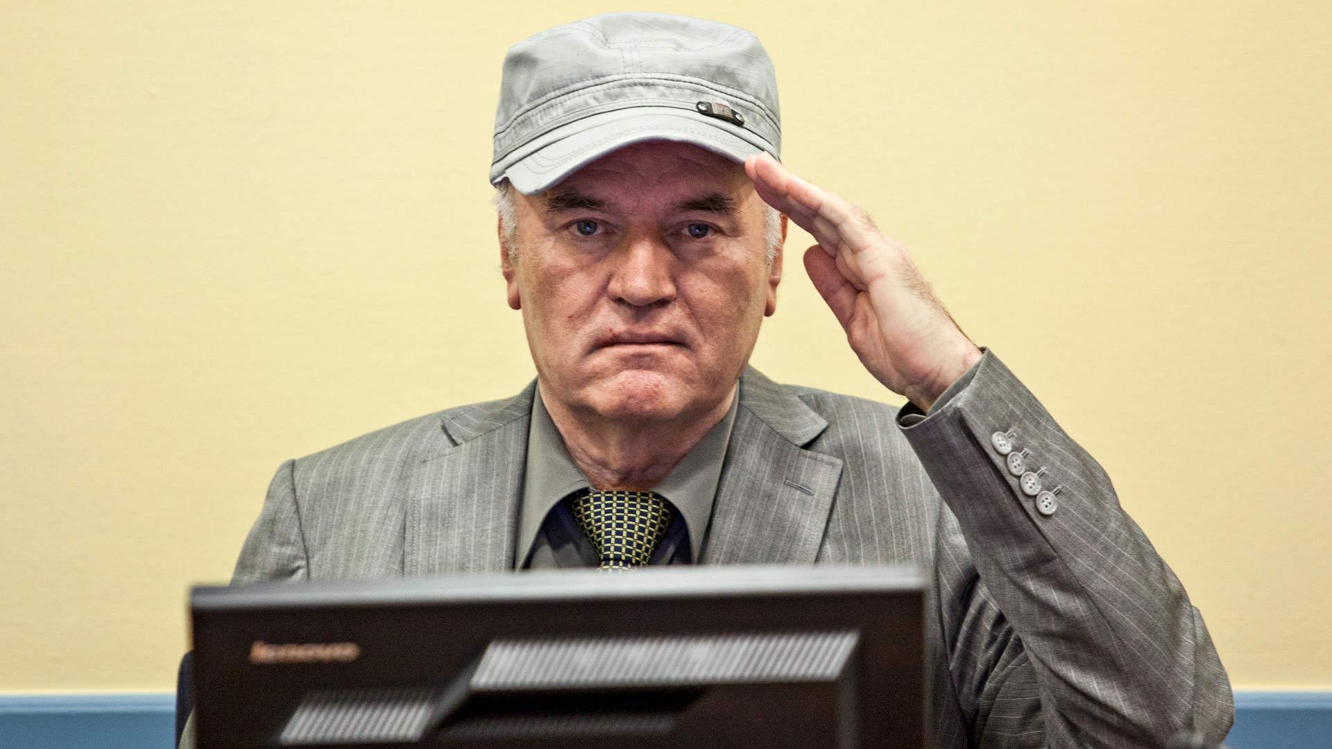Ratko Mladicin tuomio